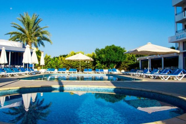 Hotel with a pool in Larnaca