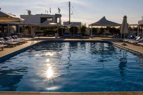 Hotel with a pool in Cyprus
